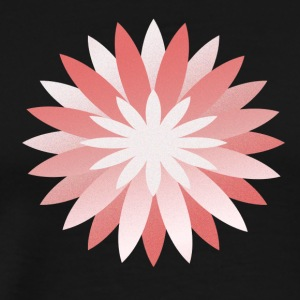 pink flower - Men's Premium T-Shirt