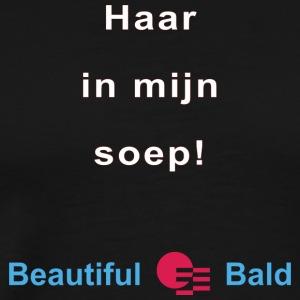 Haar in mijn soep-w - Mannen Premium T-shirt