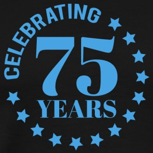75th Anniversary: ​​Celebrating 75 Years - Premium T-skjorte for menn