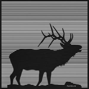 Lines | Deer - Männer Premium T-Shirt
