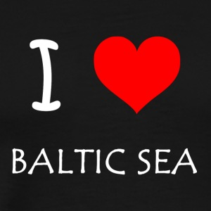 I Love Baltic Sea - Männer Premium T-Shirt