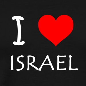 I Love Israel - Men's Premium T-Shirt