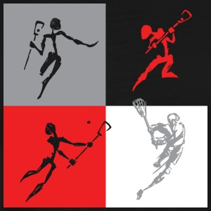 Lacrosse Players - Men's Premium T-Shirt
