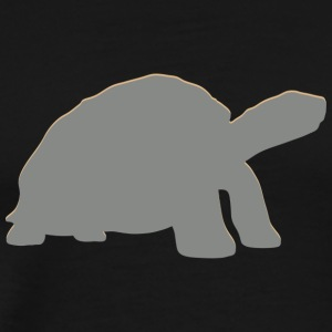 Real Sea Turtle - Premium-T-shirt herr