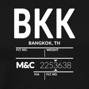 Bangkok Airport - Men's Premium T-Shirt