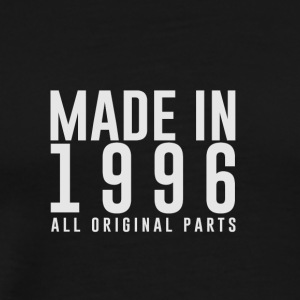 MADE IN 1996 - VERJAARDAG - Mannen Premium T-shirt