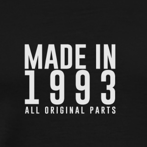 MADE IN 1993 - GEBOORTEJAAR - Mannen Premium T-shirt