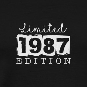 LIMITED EDITION - 1987 - Mannen Premium T-shirt