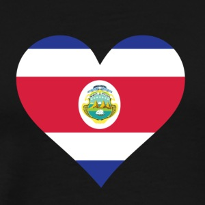 A Heart For Costa Rica - Men's Premium T-Shirt
