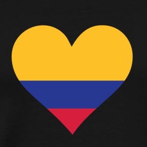 A Heart For Colombia - Men's Premium T-Shirt