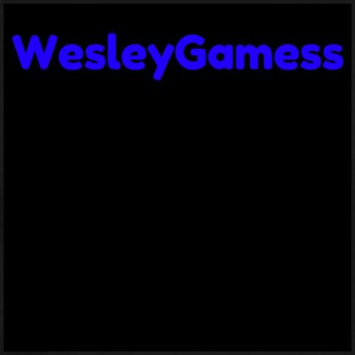 WesleyGamess zwart - Mannen Premium T-shirt