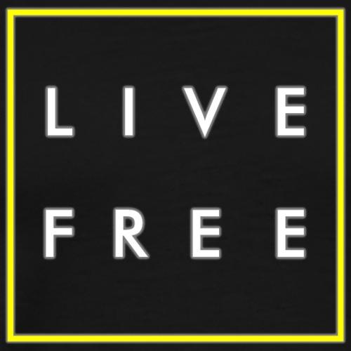 Live Free - Light - Männer Premium T-Shirt