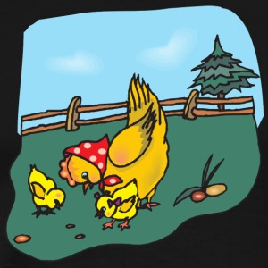 chicken92 - Premium-T-shirt herr