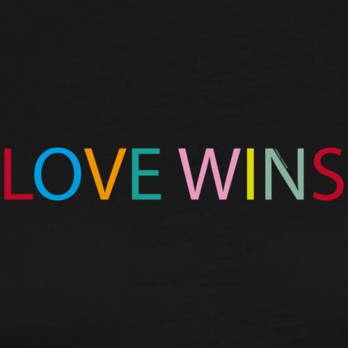 Love Wins | Animal Fashion - Männer Premium T-Shirt