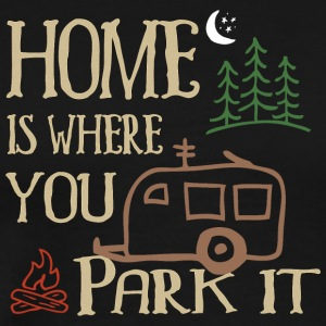 RVing Home Is Where You Park It - T-shirt Premium Homme