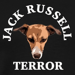 blanc terreur Jack Russell - T-shirt Premium Homme