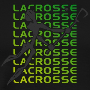 Lacrosse Player - Men's Premium T-Shirt