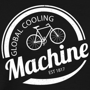 Global Cooling Machine - Mannen Premium T-shirt