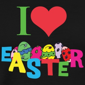 I Love Easter - Men's Premium T-Shirt