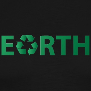 Earth Day: Earth - Recycling - Men's Premium T-Shirt