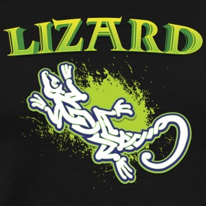 Cool lézard tribal - T-shirt Premium Homme