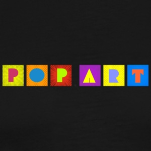 POP ART - Premium-T-shirt herr