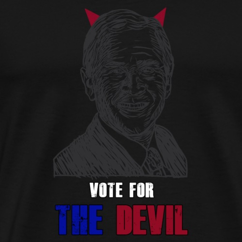 Vote the devil - Maglietta Premium da uomo