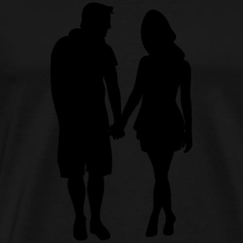 Pärchen - Männer Premium T-Shirt