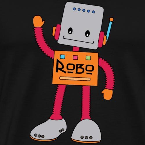 Robo der lustige Roboter - Männer Premium T-Shirt