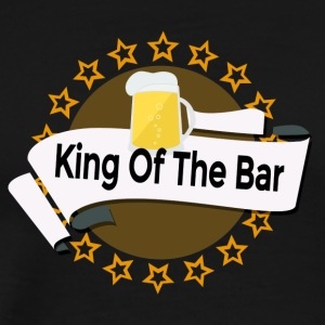 King of the Bar - Miesten premium t-paita