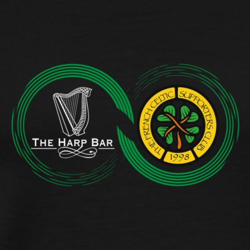 Harp and French CSC logo - T-shirt Premium Homme
