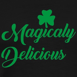 Ireland / St. Patrick's Day: Magicaly Delicious - Mannen Premium T-shirt