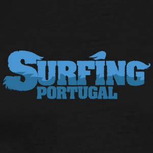 PORTUGAL Surfing Water Country - Premium-T-shirt herr