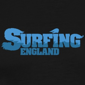 ENGLAND Surfing Water Country - Herre premium T-shirt