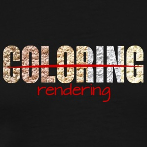 Architect / Architecture: Coloring - Rendering - Men's Premium T-Shirt