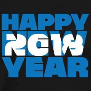 Sylvester / Silvester: Happy New Year 2018 - Männer Premium T-Shirt