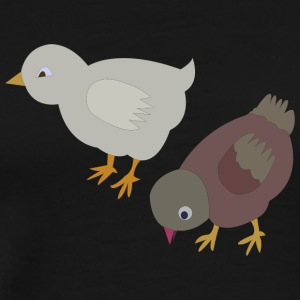 chicken84 - Premium-T-shirt herr
