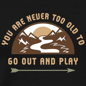 Go Out And Play - Men's Premium T-Shirt
