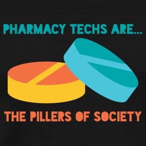 Pharmazie / Apotheker: Pharmacy Techs Are... The - Männer Premium T-Shirt