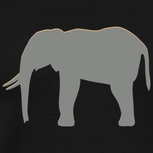Real Elephant - Men's Premium T-Shirt