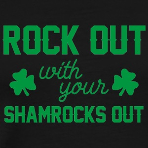 Ireland / St. Patricks Day: Rock Out med din - Premium T-skjorte for menn