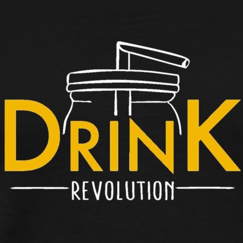 Drink Revolution (für dunkle Farben) - Männer Premium T-Shirt