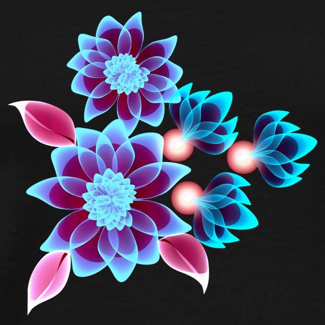 Hypnotic flowers