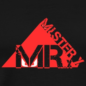 MR-X_PNG_rosso - Mannen Premium T-shirt