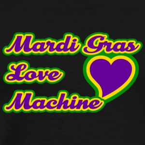 Mardi Gras Love Machine - Men's Premium T-Shirt