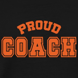 Coach / Trainer: Proud Coach - Männer Premium T-Shirt