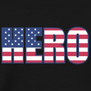 Hero USA - Premium T-skjorte for menn
