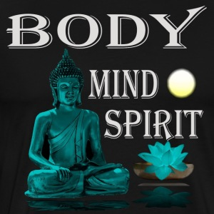 Buddha BodyMindSpirit - Men's Premium T-Shirt