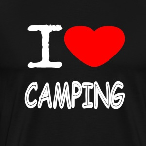 I LOVE CAMPING - Men's Premium T-Shirt