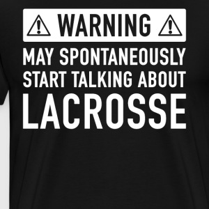 Funny Lacrosse Gift Idea - Men's Premium T-Shirt